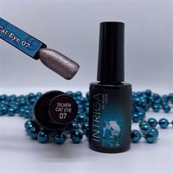 Гель-лак INTRIGA 11D №7 темное серебро 10мл - фото 5480